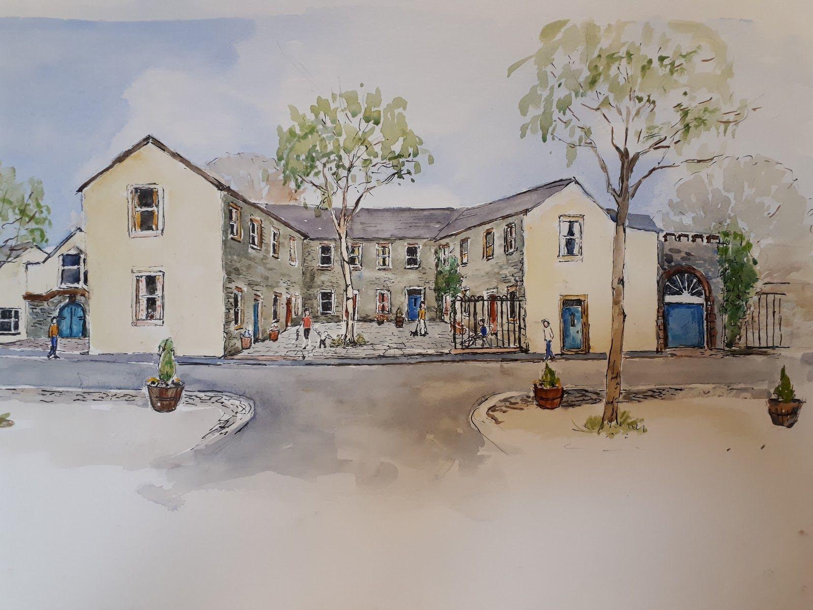 Artist Impression of Brewery Development
